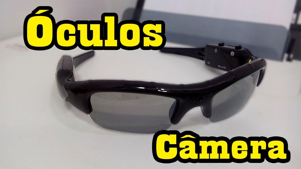 cb029ed83 Como Usar O Óculos Espião Com Câmera Sport L Gyn - YouTube