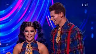 Saara Aalto and Hamish Gaman - Dancing on Ice week 5 - Full performance - Puppet on a string