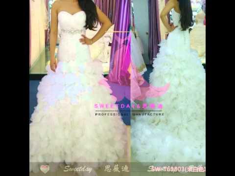WEDDING DRESS SHOPPING!!!   sweetday wedding dress factory