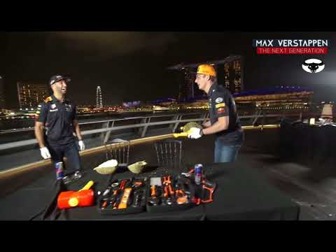 Max Verstappen and Daniel Ricciardo eating The Smelliest Fruit in the world