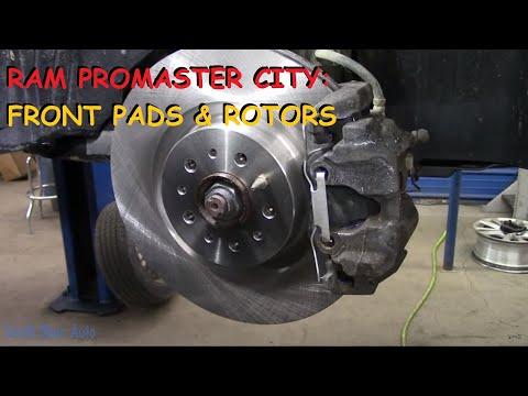 Ram Promaster City: Front Brake Job