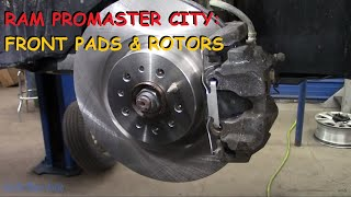 Ram Promaster City: Front Brake Job