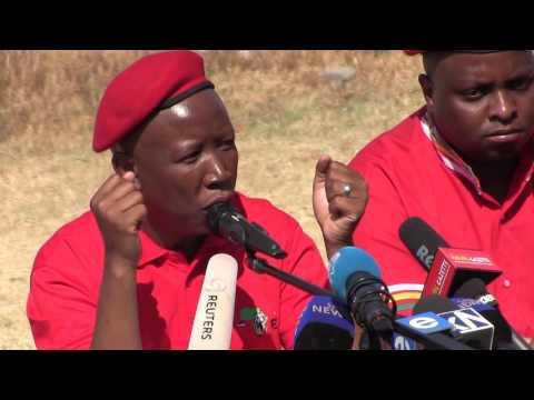 Make your enemies eat humble pie - Malema tells Caster Semenya