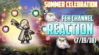 FEH Channel 07.19.2018 Live Reaction & Breakdown [Fire Emblem Heroes]