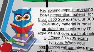 Latest 300-209 Exam Dumps - 300-209 Braindumps