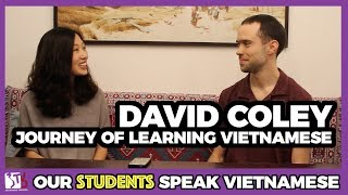 Learn Vietnamese with TVO | David Coley and his journey of learning Vietnamese