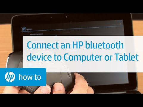 Connect an HP Bluetooth Device to Your Computer or Tablet | HP Bluetooth Devices | HP