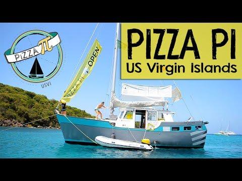 PIZZA PI — The best pizza of the caribbean — Sailing Uma [Step 78]