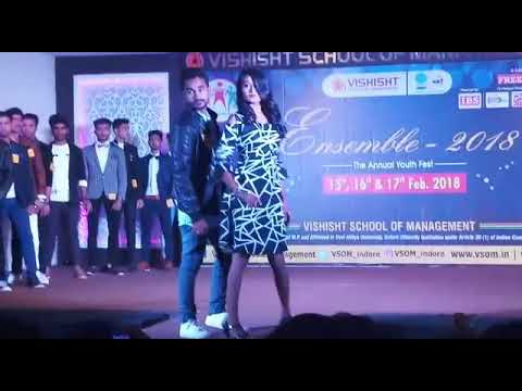 Ensemble 2018 Fashion Show at Vishisht school of management indore