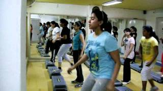 Aerobics delhi , India  Step class at B719 Extn  Safdarjung Enclave, 9268766629  anujacademy com