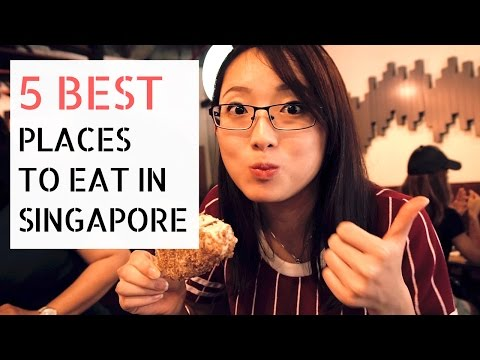 TOP 5 FOODS & WHERE TO EAT IN SINGAPORE │Travel Singapore Gu