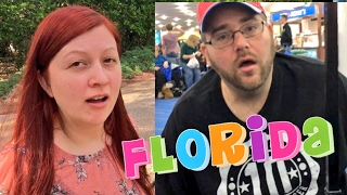 GRIMS AIRPORT FREAKOUT! HEEL WIFE RUINS DISNEY VACATION DAY 1!