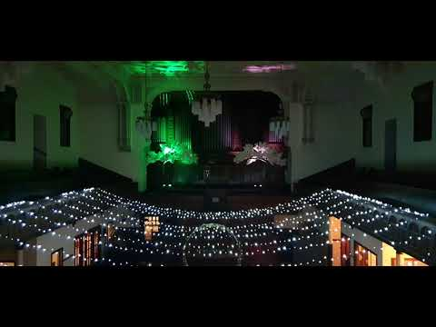 Light show at The Whitby Brunswick Centre