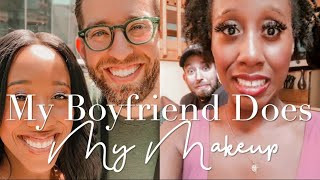 My Boyfriend Does My Makeup! | Boston Blogger
