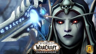Sylvanas & Anduin Aтtack Winter Queen - All Cutscenes [9.1 WoW Shadowlands: Chains of Domination]