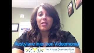 Restylane Videomonial by Kate at Las Vegas Dermatology Thumbnail