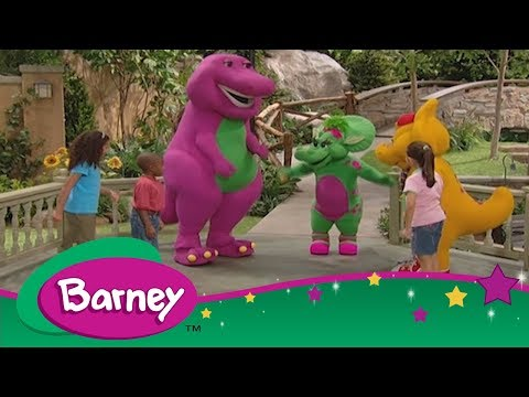 Barney 🎈 We're Gonna Play All Day 😊 Let's Have Fun 🎈