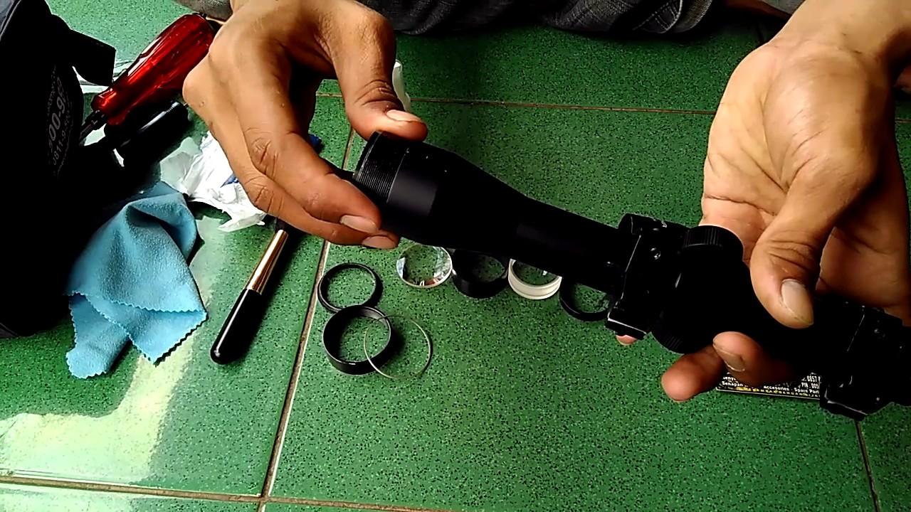 Cara membersihkan lensa teleskop