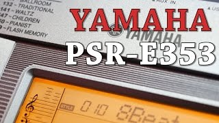 Yamaha PSR-E353 Beginner Keyboard at Cranbourne Music