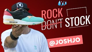Rock don't Stock: découvrez l'incroyable collection de Air Max 1 de Josh !