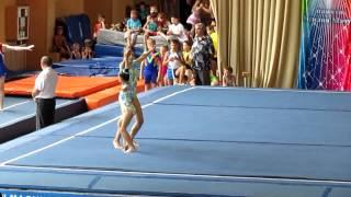 Спортивная акробатика, 1 юн. разряд , 2-е упражнение. 2011г.