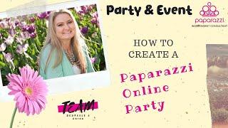 كيفية إنشاء المصورين الحزب على الانترنت
