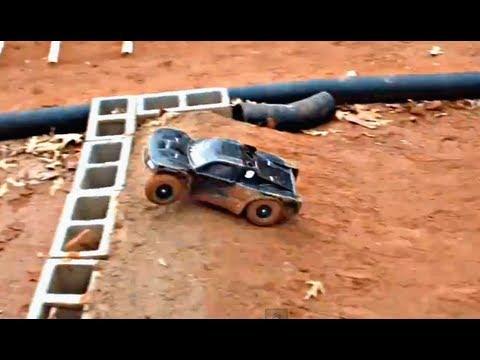 Cycon's Backyard RC Track Test Footage