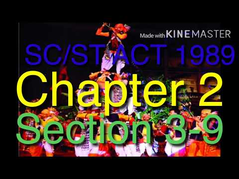 SC/ST ACT 1989 CHAPTER 2(Right Academy)