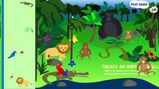 Create an Animal Jungle! - Sheppard Software