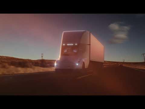 Tesla Semi Platooning
