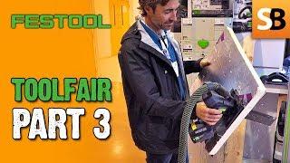 Toolfair #3 - Festool ISC240 Insulation Saw