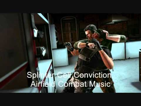 Splinter Cell Conviction Soundtrack-Airfield Combat