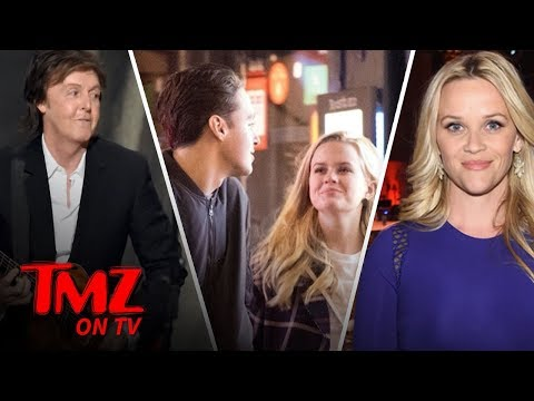 Reese Witherspoon's Daughter Grabs a Drink with Paul McCartney's Grandson | TMZ TV