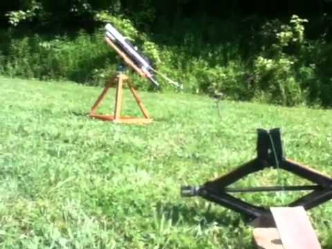 allen clay target thrower assembly instructions
