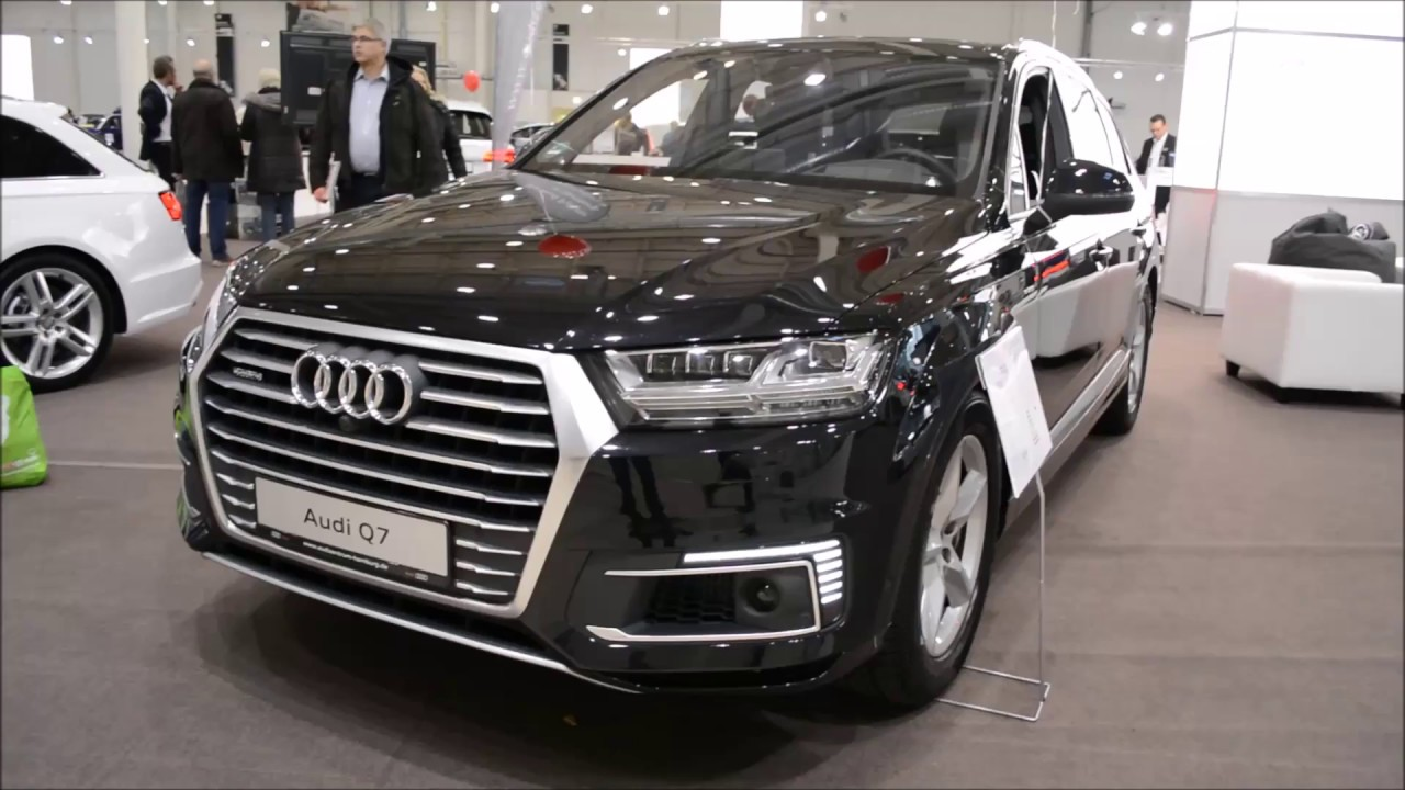2017 new audi q7 e tron exterior and interior youtube. Black Bedroom Furniture Sets. Home Design Ideas