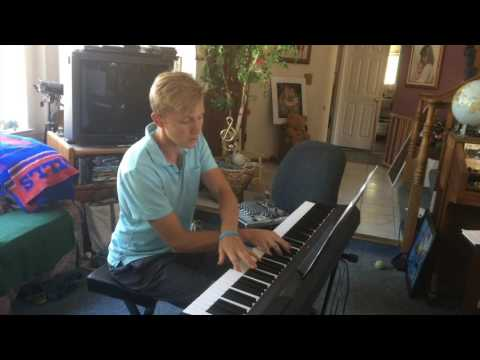 Amazing Grace - Instrumental Smooth jazz piano