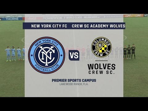 Development Academy Showcase: U-15/16 New York City FC vs. Crew SC Academy Wolves