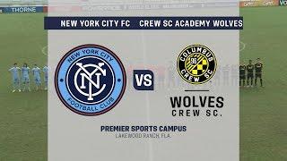 Development Academy Showcase: U-15/16 New York City FC vs. Crew SC Academy Wolves