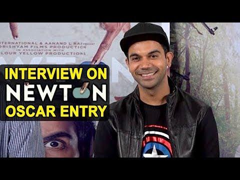 Rajkummar Rao INTERVIEW on 'Newton' OSCAR Selection | India's official entry to Oscars 2018