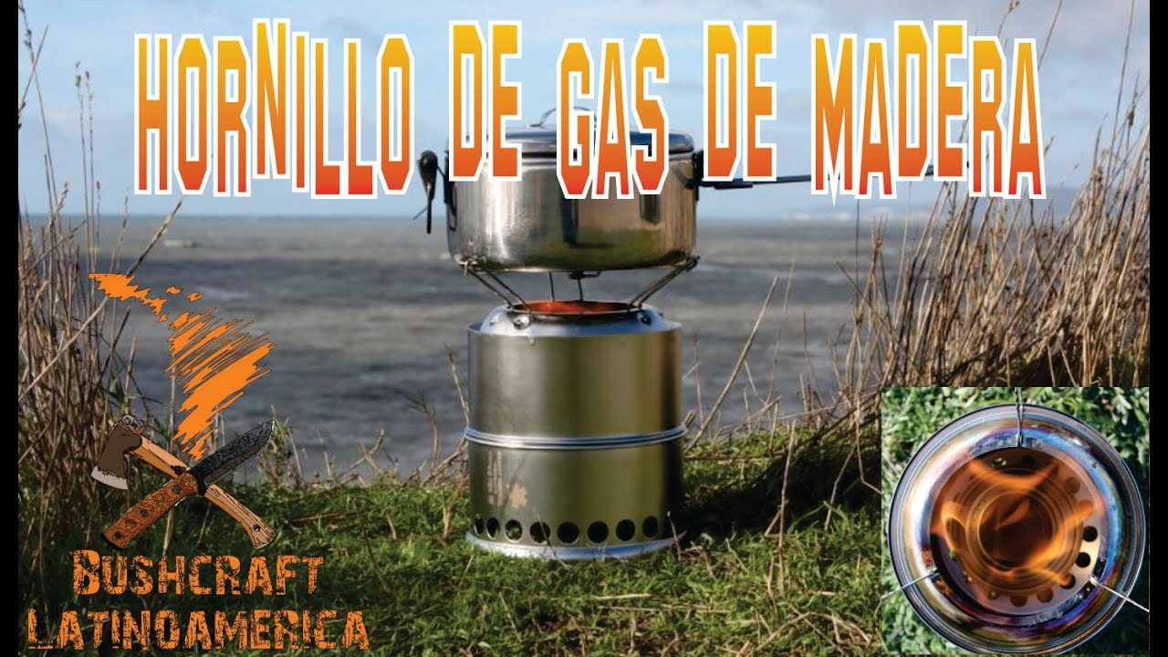 Hornillo de gas de madera youtube Cocinilla a gas 1 plato