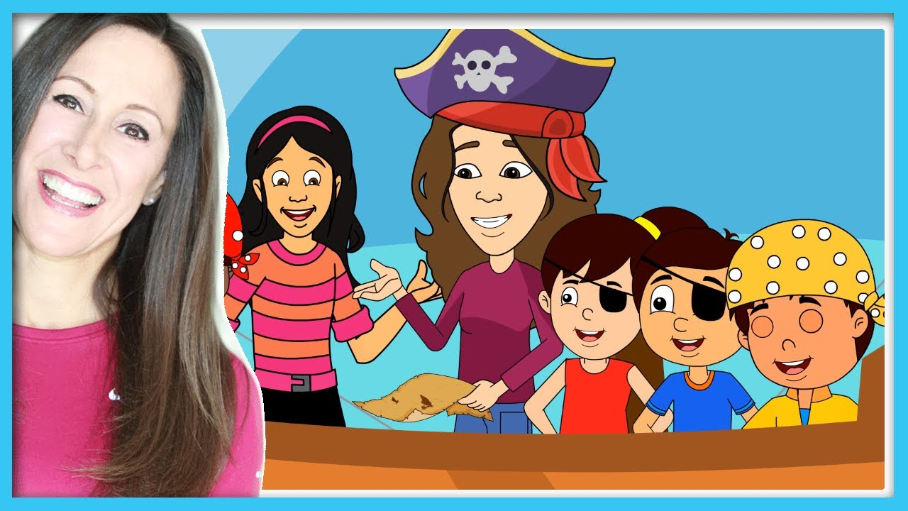 come sail away with me pirate song children kids and toddler