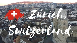 4K 🌉 Zürich, Switzerland Drone Flight Video | Motivational Music | World from Above