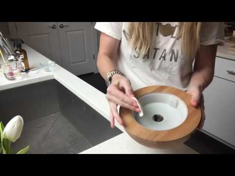 How to clean your Aria diffuser