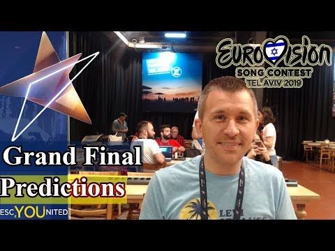 Eurovision 2019: Grand Final & Winner Predictions