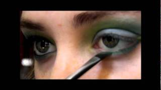 """Turquoise and Green Eyeshadow Tutorial"" using the ""88 Matte Palette"" Thumbnail"