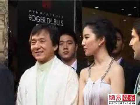 Jackie Chan and Crystal Liu interview about Dragon's Heart Charity