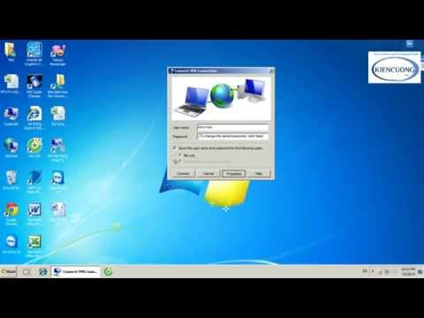 Hướng Dẫn Kết Nối VPN Bằng Internet để Làm Việc Với Mạng Nội Bộ Evn 2 Phần Với WinXP Và Win7