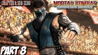 Mortal Kombat Komplete Edition Story Mode Part 8 - Chapter 8: Sub-Zero (PC, PS3, Xbox 360)