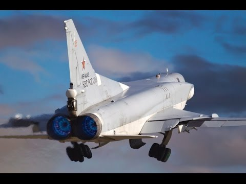 Tu 22M3  Air Strike  from Russian territory on terrorists objects in Syria