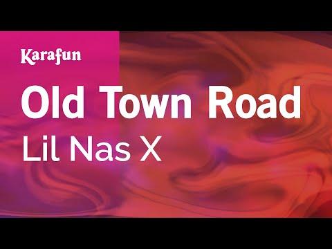 Old Town Road - Lil Nas X | Karaoke Version | KaraFun